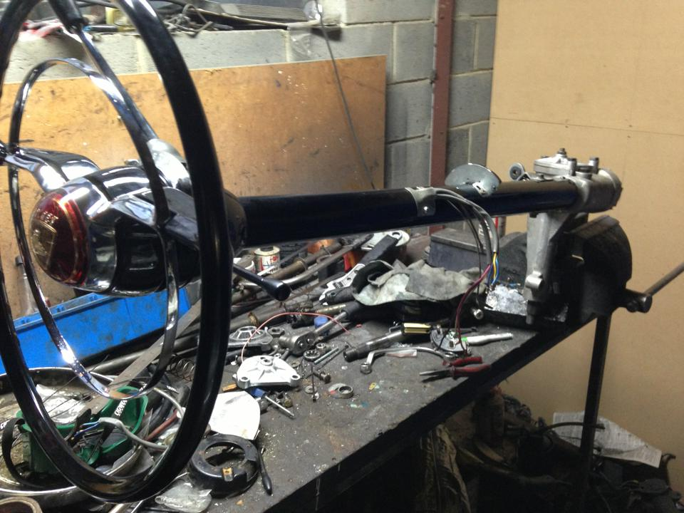 Steering Column Rebuilds a speciality, 48 - WB & Torana. — with FE Trimatic Auto Column